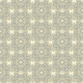 Damask decorative wallpaper for walls vector vintage seamless patterns — ストックベクタ