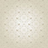 Damask decorative wallpaper. vector vintage pattern. — Vecteur
