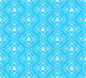 织锦缎装饰墙纸墙矢量老式的无缝模式 — 图库矢量图片