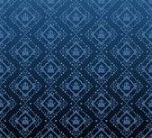 Damask decorative wallpaper. vector vintage pattern. abstract background — ストックベクタ