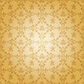 Damaškové dekorační tapeta. vektorové vinobraní vzorek. abstraktní pozadí — Stock vektor