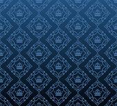 Damast dekorativa tapet. vektor vintage mönster. abstrakt bakgrund — Stockvektor