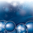Christmas Background. Vector Illustration. - Image vectorielle