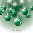 Christmas Background. Vector Illustration. — 图库矢量图片