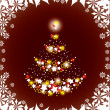 Christmas Background. Vector Illustration. — Vettoriali Stock