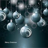 Jul bakgrund. vektor illustration. — Stockvektor