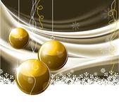 Kerstmis achtergrond. vectorillustratie. — Stockvector