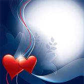 Alla hjärtans dag bakgrund. — Stockvektor
