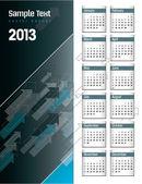 2013 kalendarz. — Wektor stockowy