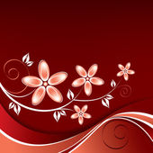 Abstract Floral Background. — Vector de stock