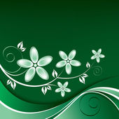 Abstract Floral Background. — Wektor stockowy