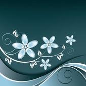 αφηρημένο floral φόντο. — Διανυσματικό Αρχείο