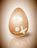 Easter Egg. Vector Design. — Stock Vector