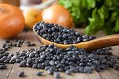 黑豆 — 图库照片