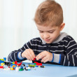 Kid at home playing — Stock Photo #27865263