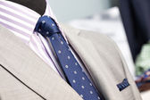 Closeup of the upper section of a man suit — Stock Photo