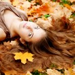 Autumn woman. — Stock Photo #15453595