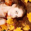 Autumn woman. — Stock Photo #15453941