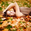Autumn woman. — Stock Photo #15453989