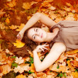 Autumn woman. — Stock Photo #15454017