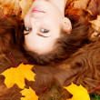 Autumn woman. — Stock Photo #15454317
