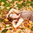 Autumn woman. — Stock Photo #15454737