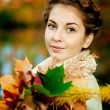 Autumn woman. — Stock Photo #15454819
