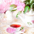Stock Photo: Vintage tea