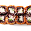Sushi with black rice — Stockfoto