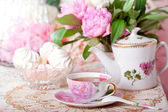 Vintage tea — Stock Photo