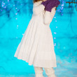 Little winter fairy tale girl — Stock Photo #27082849