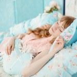 Sleeping woman — Stock Photo #27086111