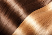 Shiny hair texture — Stock Photo
