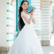 Bride with long hair — Stock Photo #51085613