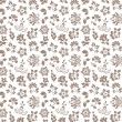 Floral seamless background - pattern for continuous replicate — Stockvectorbeeld