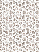 Floral seamless background - pattern for continuous replicate — Stock Vector