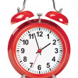 Cтоковый вектор: Alarm clock isolated on white. Vector illustration