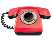 Telephone vintage, isolated. Vector Illustration — Stok Vektör