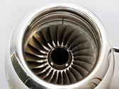 özel jet uçağı jet motor türbin — Stok fotoğraf