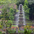 Water Fountain at Tirtagangga Temple, Bali - Stock Photo