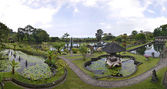 Panorama of Tirtagangga water palace Bali, Indonesia — Stock Photo