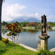 Taman Ujung water palace on Bali - Stock Photo