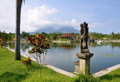 Taman Ujung water palace on Bali — Stock Photo