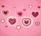 Happy Valentine`s Day background — Stock Photo