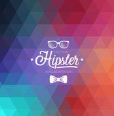 Hipster tło. — Wektor stockowy