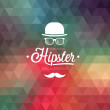 Hipster background. — Stockvektor