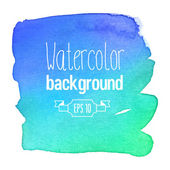 Watercolor background. — Stock Vector
