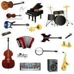 Set of instruments — Stock Vector #30205287