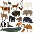 Stock Vector: Animals 1