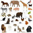 Stock Vector: Animals 2